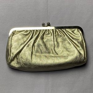 Express Leather Clutch